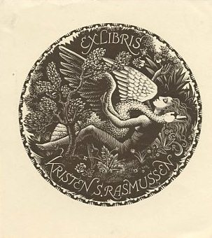 29.Bookplate from the Hinterhuber collection